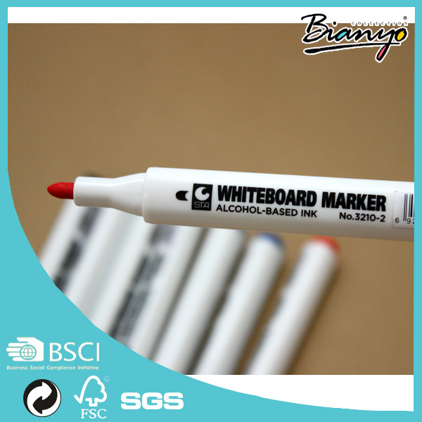 STA professional alcohol -based ink Wholesale High quality Fabric paint marker pen Wholesale indelible whiteboard marker pen