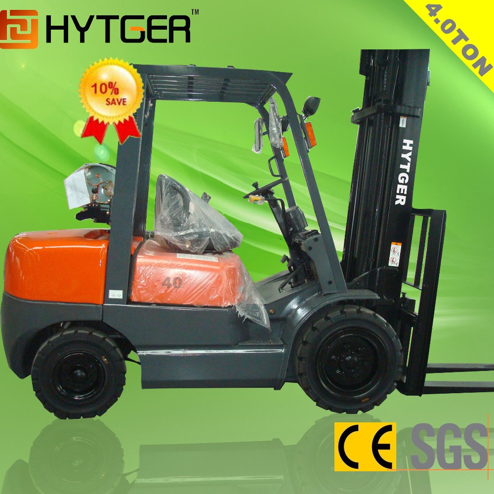 High quality nissan K25 engine 4ton gasoline manual forklift