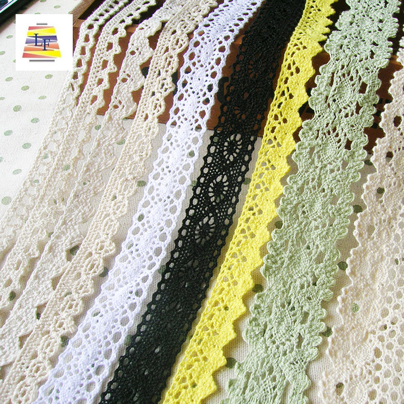 Wholesale in Stock Fashion Lace Trim Fabric in Good Price