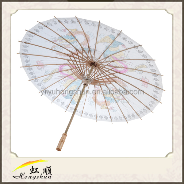 Custom Chinese wedding paper umbrella, paper parasol, wedding umbrella