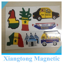2014 New Africa Style Paper Fridge Magnet /Creative Fridge Magnet / Custom Made Fridge Magnets