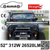 Auto Lighting System CE, ROHS,IP67 Certificate 312W 24 volt led light bar