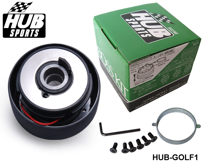 AUTOFAB - Racing Steering Wheel Hub Adapter Boss Kit for Volkswagen VW Golf HUB-GOLF1
