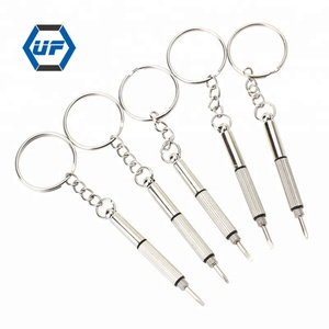 3 in 1 Mini Multi Functional Screwdriver Promotional Keychain Screwdriver for Eyeglasses Watch Mobile Phone Repair