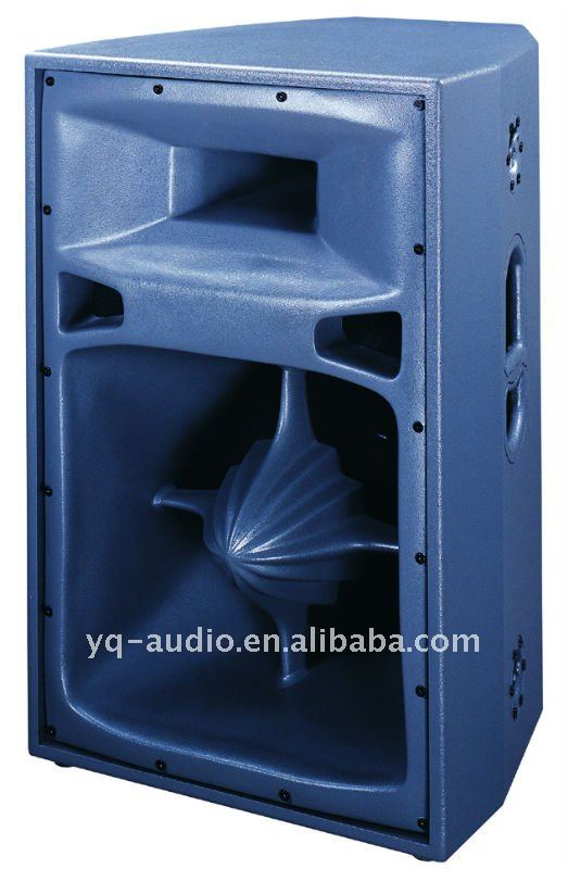 "dual 15"" two-way line array speaker XP351A for stage performance pro loudspeaker"