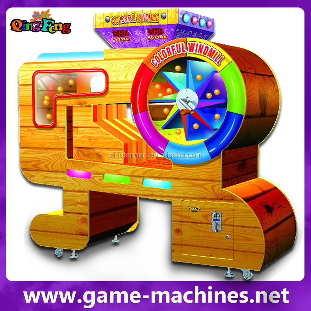 Qingfeng hot sale colorful windmill electronic bergmann roulette machine