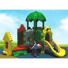 High quality outdoor plastic slide amusement playground equipment for sale MKP2007