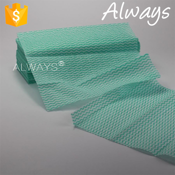Convenient use viscose/polyester glass cleaning cloth