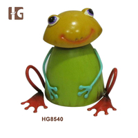 Metal Smiling Frog Home Decor Direct