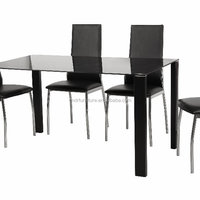 High Quatity Dining Table Set Tempered