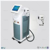 808nm diode laser hair removal system for beauty salon equipment