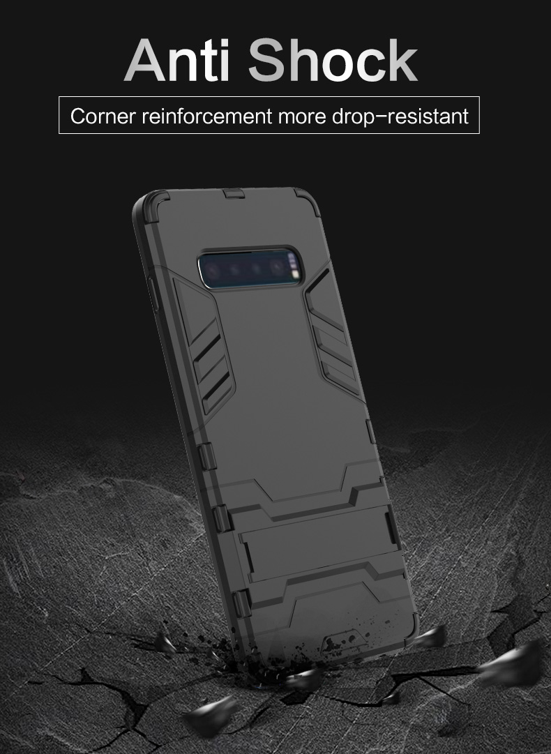 Latest High Quality tpu pc kickstand phone cover case for samsung M20 phone cover case