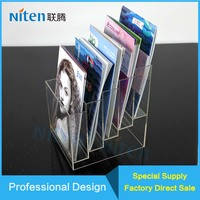 acrylic Tabletop book stand holder