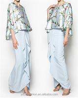 Buy Fashionable Latest Design Moden Baju Kurung in China on ...