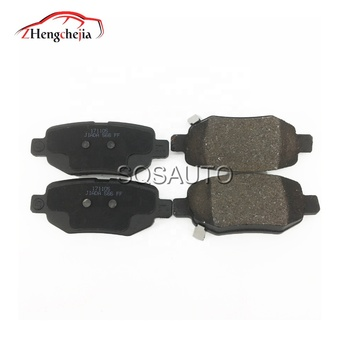 Full Auto partshigh quality M11-3502210  rear brake shoe for Chery  A3