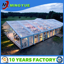 1000 People Cheap Waterproof Large Outdoor Event Clear Roof Transparent Marquee Party Wedding Tent