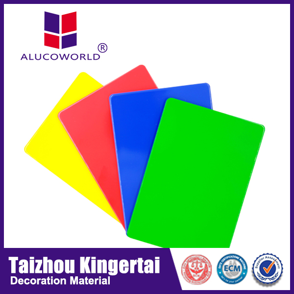 Alucoworld latest price list from China for furniture interior wall panels