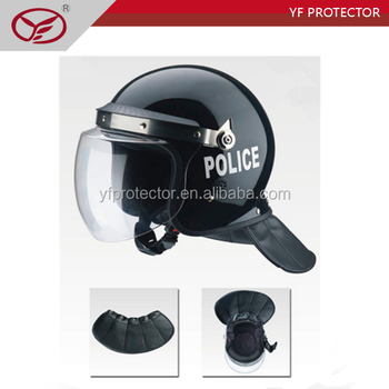 Military ABS shell anti riot control helmet/police riot helmet