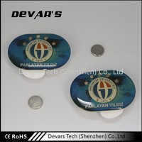 Low price wholesale cheap price poppy metal pin security badge