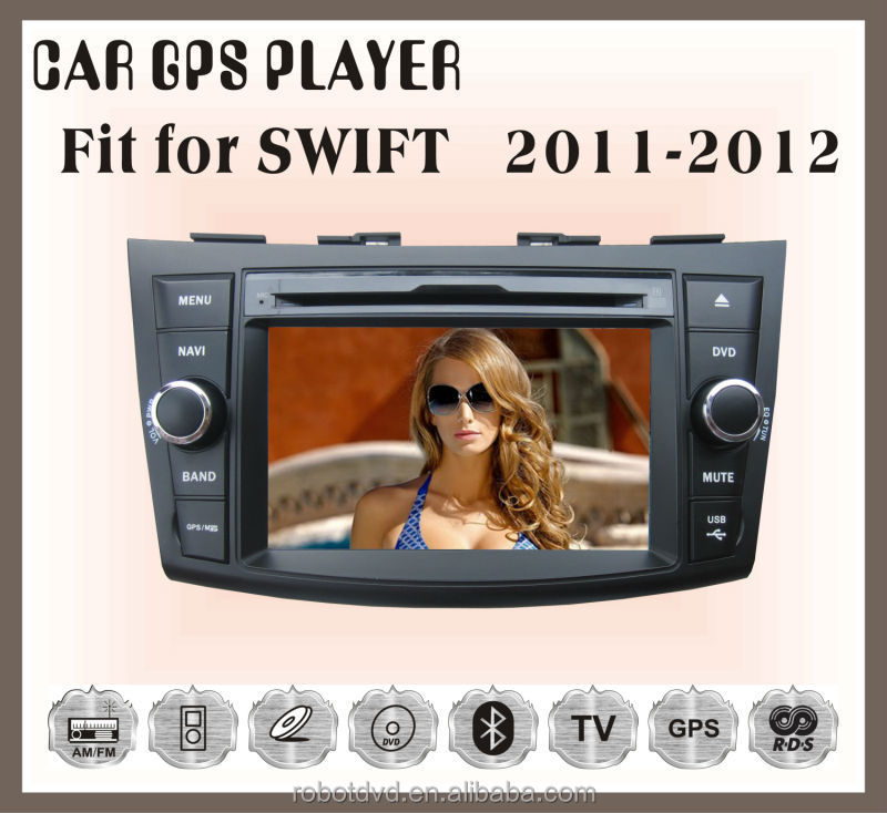 Fit for suzuki swift 2012-2014 car dvd car radio with gps