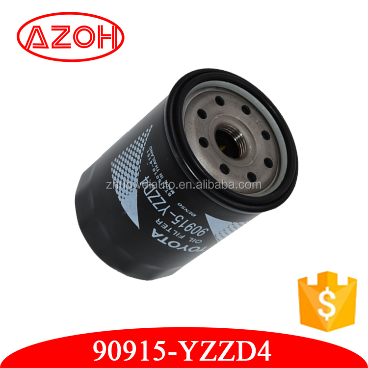 Factory price Toyota car parts lubrication system cartridge oil filter iron oil filter OEM.90915-YZZD4