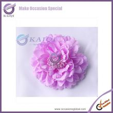19119 lilac fabric flower artificial flower event decoration