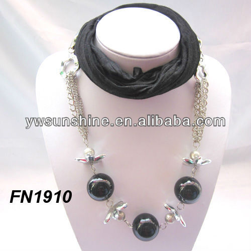 Factory wholesale jewelery large beads for scarf
