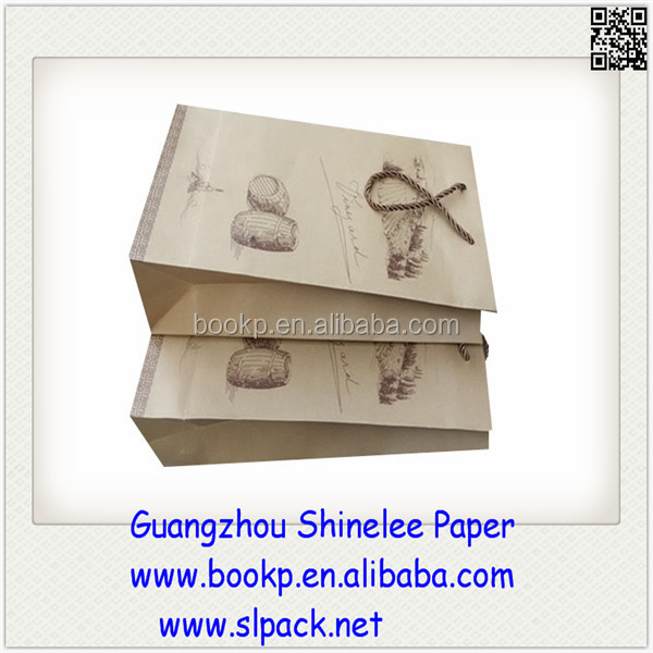 factory sale all designs food packaging paper bag with low cost