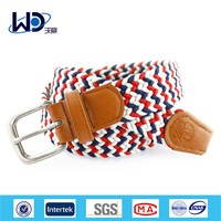 2015 Custom Braided Mens Stretch Belts