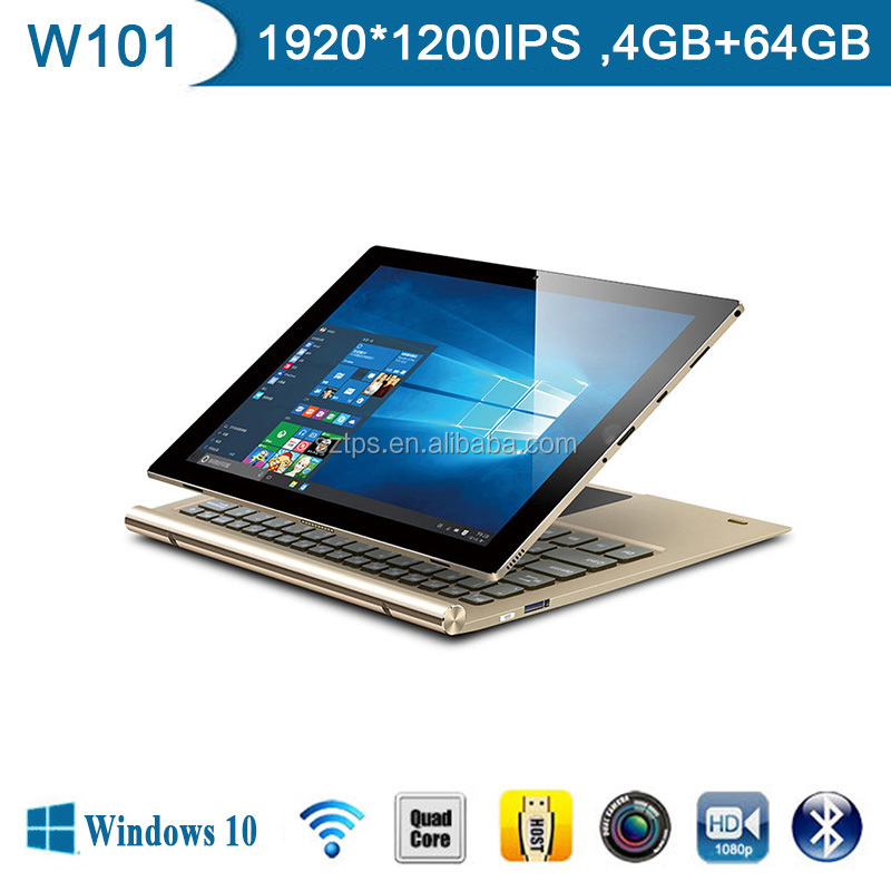 10 Inch Tablet PC Cherry Trail Z8350 Quad Core 2 In 1 surface Pro With Capacitive Touch Pen,Window android tablet pc