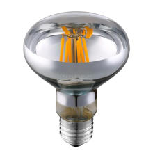 led filament bulb ul cul 6W AC110 AC220V led light bulb e27 dimmable filament led bulb R80 e27