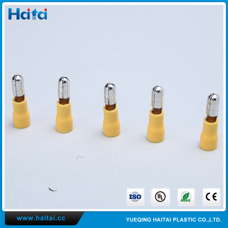 Haitai China Factory Custom Cable Connector MPD Series Male Bullet Insulated Terminal