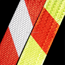 pvc micro prismatic type china wholesale tc fabric high luster' reflective tape