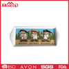 BPA free non-toxic food safety custom logo cartoon print airline ware children use party food tray