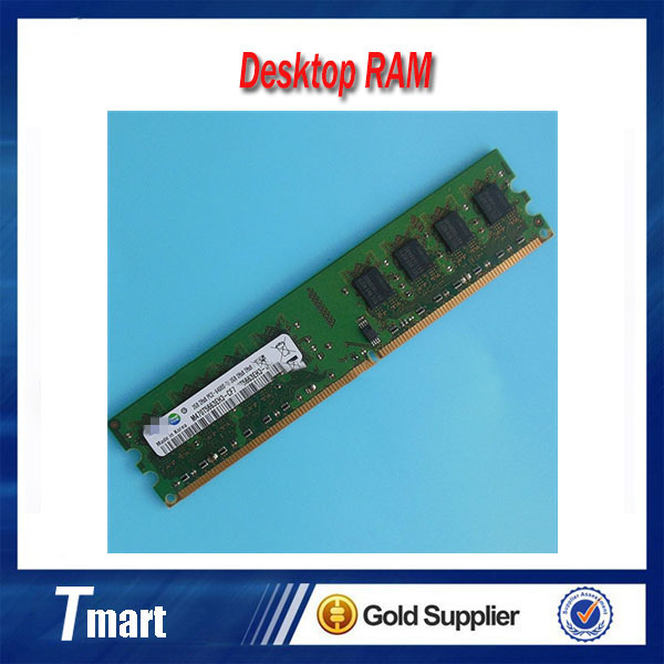 100% working and high quality original 2GB PC2-6400 DDR2-800 DDR2 800Mhz 240pin desktop memory