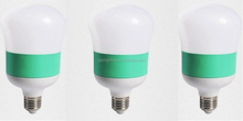 Contrast color housing LED Bulb Plastic Aluminum E27 B22 20W