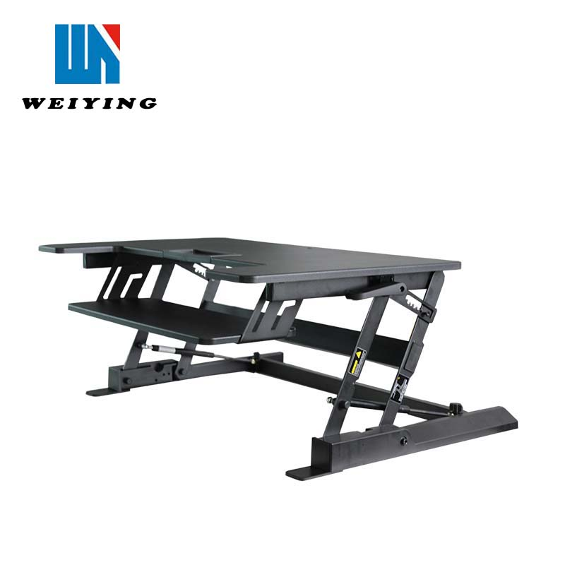 Office Sit Stand Up Desk with Height Adjustment Function