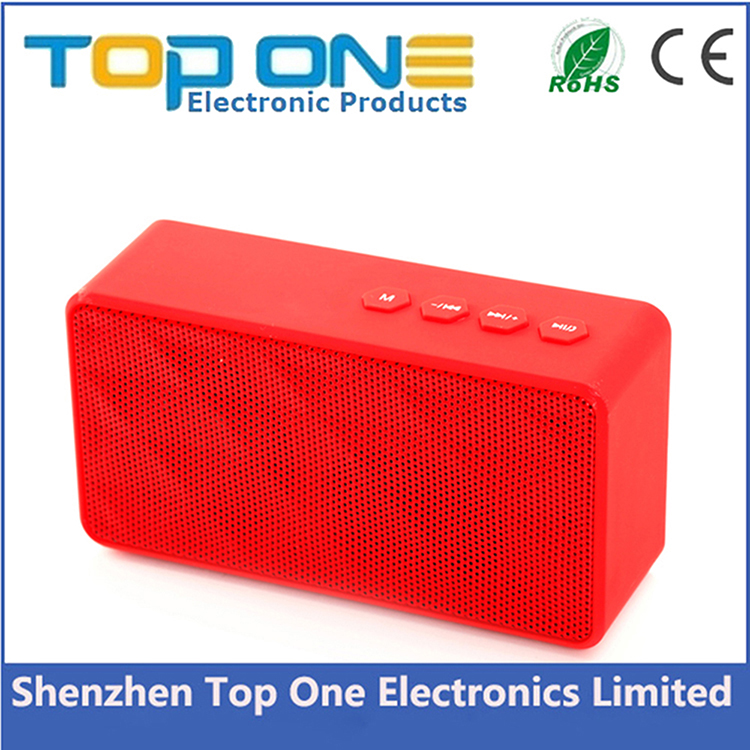 New mini speaker water cube design wireless bluetooth bass cube speaker box, portable fm radio mini speaker with bluetooth
