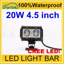 One Row 20w 4.5 inch cree offroad led light bar
