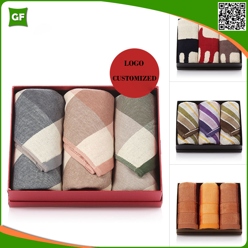 Professional Terry Fabric Customized Brand Name Towels With Best Price
