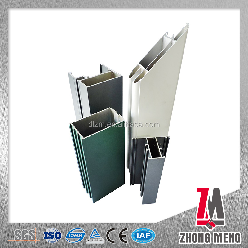 Powder spray anodized aluminum extrusion profile