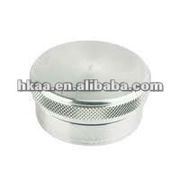 Siver Anodize Aluminum Switch Knurling knob Bolt