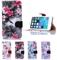 LEATHER LUXURY FLIP VINTAGE RETRO FLORAL STAND CASE COVER FOR IPHONE 6/6 plus