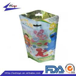 Metalized Stand Up Pouch/aluminum Foil Plastic Zipper Bag For Food
