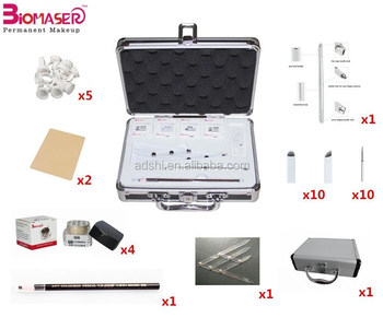 Top quality professional manual hand tool permanent eyebrow machine , micro blades eyebrow microblading pen kit