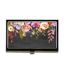 Wholesale Monogrammed Floral Women Business Card Case