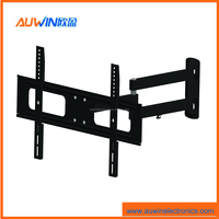 Ultra slim full motion wall mount bracket motorized lcd led tv flip down lift ceiling mount