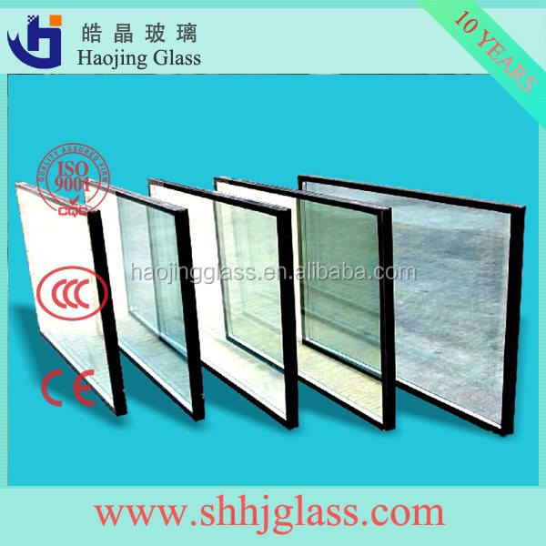 clear,tinted,low-e high quality Insulating glass/insulated glass panels tempered low e glass