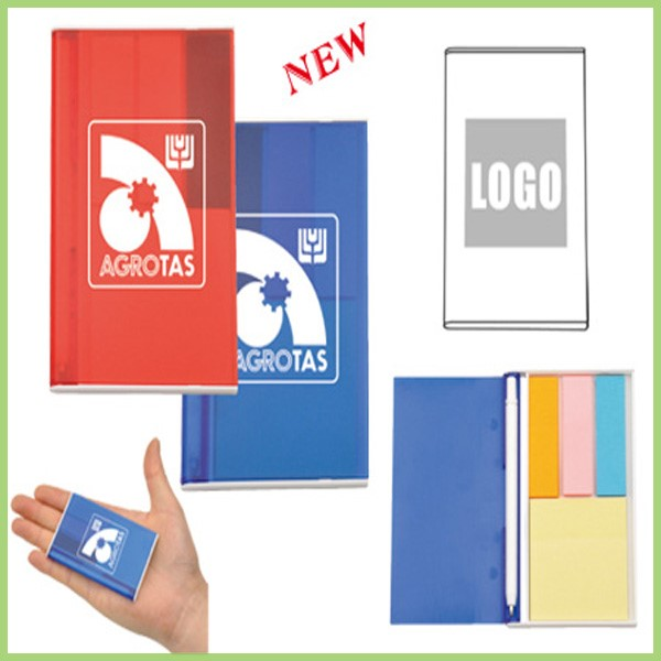Wholesale Printed Mini Kid's Pocket Sticky Notes with Pen