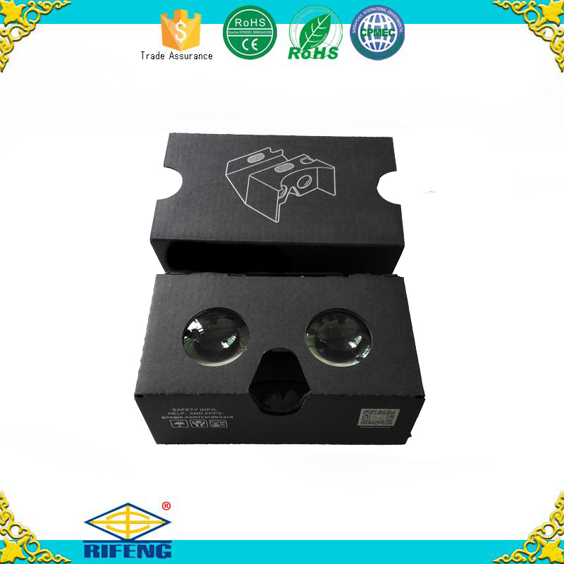 Factory Customization Promotion Gift Google Cardboard Glasses New Version Cardboard V2